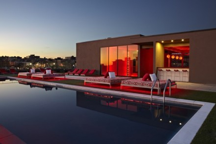 Penthouse Pool - Courtesy of Urban Adventure Cos.