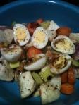 quail eggs meal