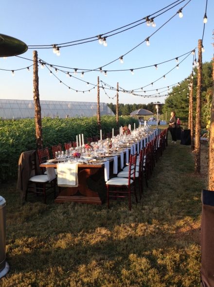 Thoughtful preparations by the thoughtful Chef Jeff Witte at the Airlie Center's Harvest Dinner.
