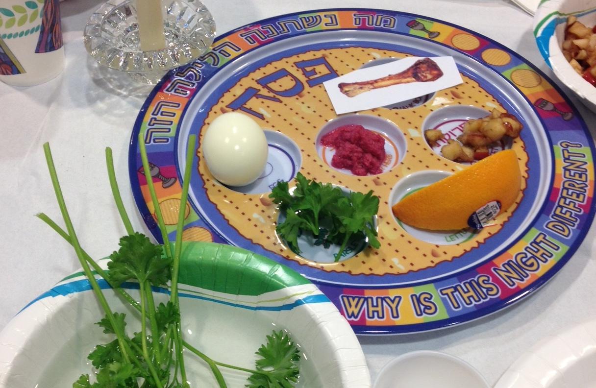Passover Seder: Saturd...