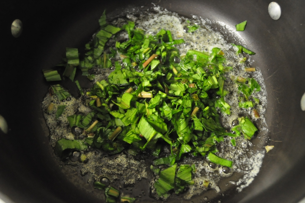 Ramps + Morels + Asparagus = Spring Risotto (6/6)