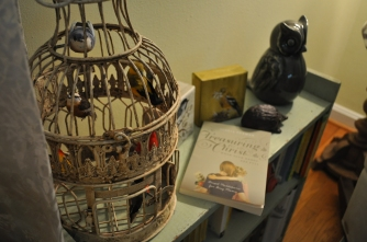 I love this bird cage from Evolution Home.