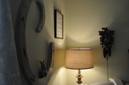 My grandmother's cuckoo clock.