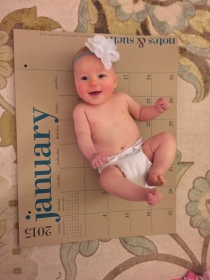 My baby is 4 months!