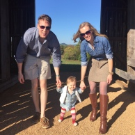 Families in chambray.